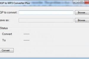 3GP - 3GA to mp3 converter