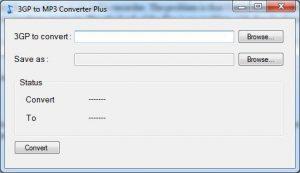 3GP / 3GA to mp3 Konverter