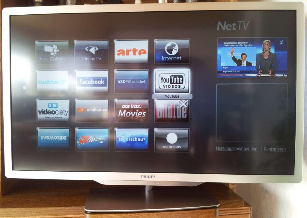 Philips Net TV – 47PFL7666K