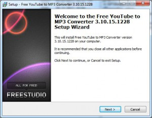 Free YouTube to MP3 Converter - Setup