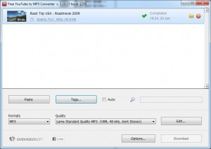 Free YouTube to MP3 Converter - download video to mp3 finished