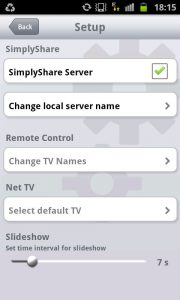 Philips MyRemote 2 - SimplyShare Server