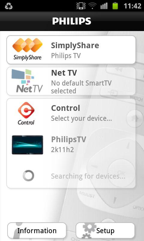 Philips MyRemote 2.0 – SmartTV