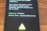 Samsung Galaxy S2 - Warning Custom rom installation