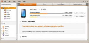 Android 4.0.3 Ice Cream Sandwich - Samsung Kies