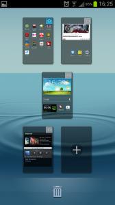 Galaxy S3 Homescreen loeschen