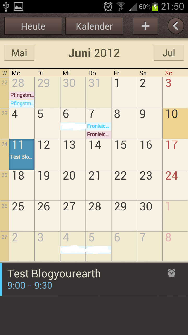 kalender samsung