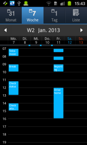 Sync Samsung Galaxy Ace 2 with Outlook calendar