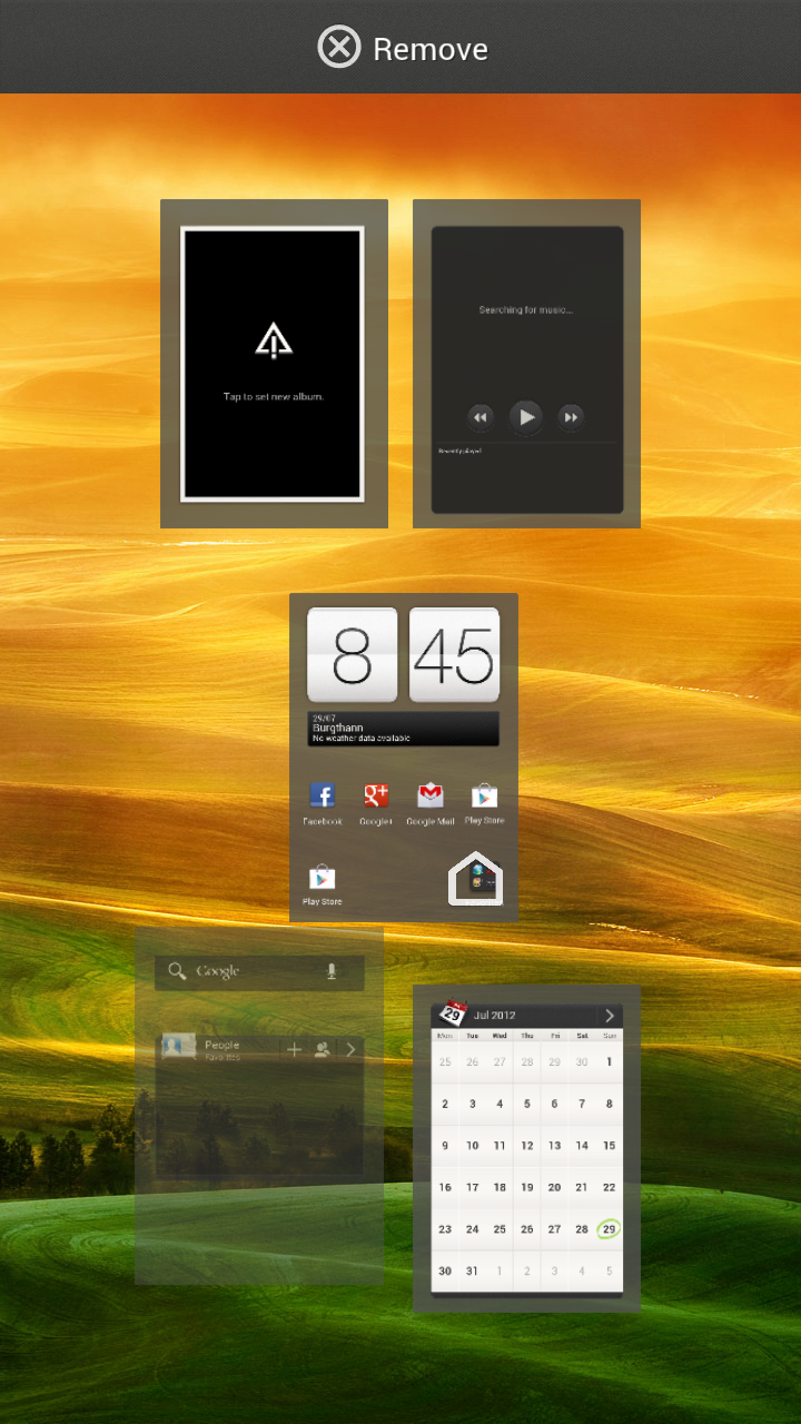 HTC One X – Screenshot erstellen