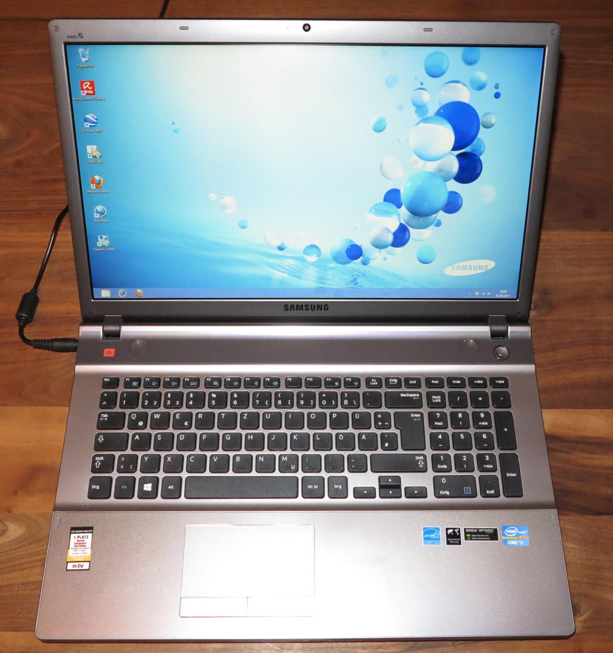 Samsung Serie 5 550P7C S0E Notebook – Testbericht 1 – 2