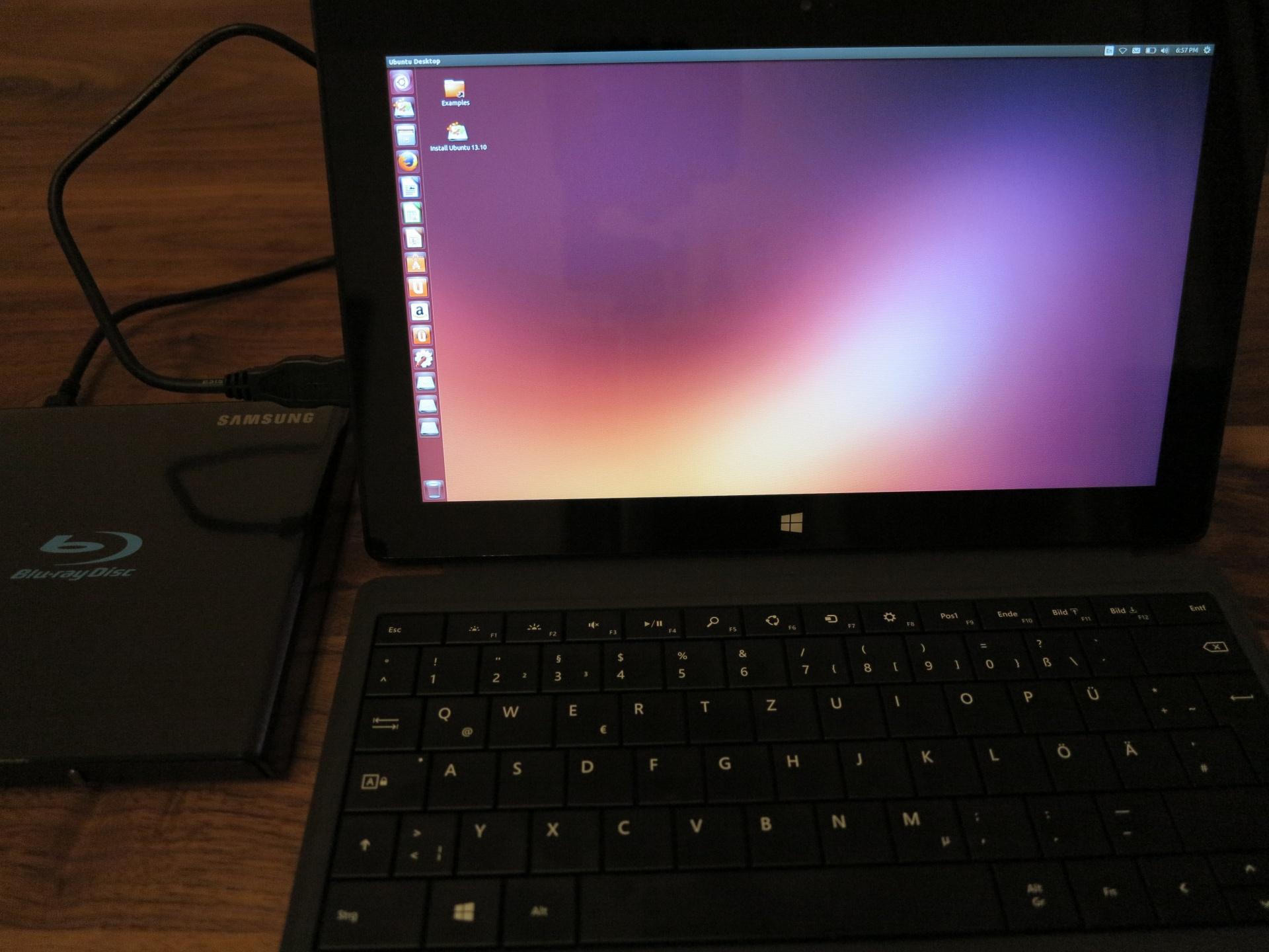 Surface Pro 2 – Ubuntu Linux installieren