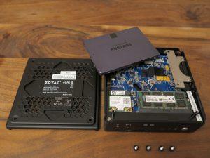 Zotac ZBOX CI540 NANO Barebone-PC 5