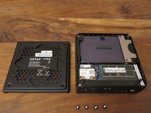 Zotac ZBOX CI540 NANO Barebone-PC 7