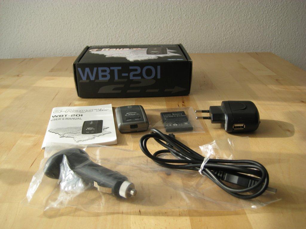 Wintec WBT 201 Logger