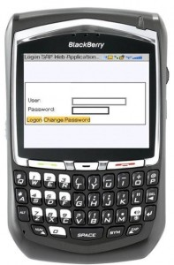 BlackBerry Custom Logon