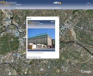 Fodysseus KMZ Google Earth Ansicht
