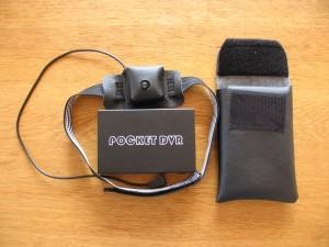 Tasche und Helmhalterung