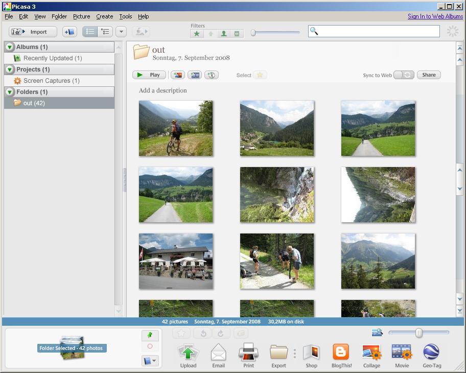 Picasa 3 (Beta)