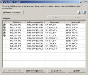 Sony Image tracker