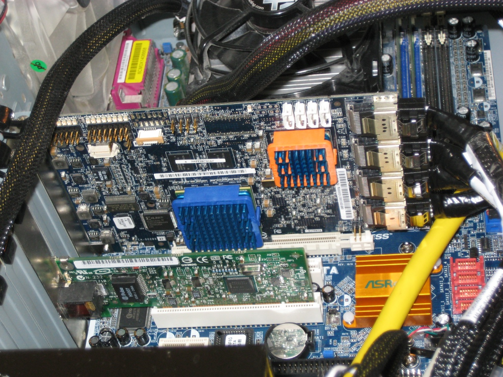 Linux Media-Server 11 TB