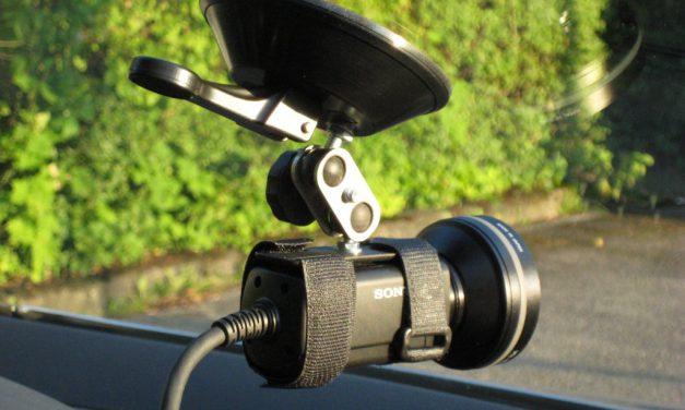 Helmkamera Halter