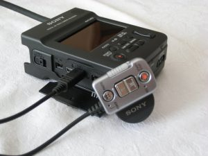 Sony hxr-mc1p mit Fernbedienung