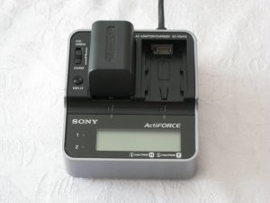 Ladestation Sony ActiFORCE