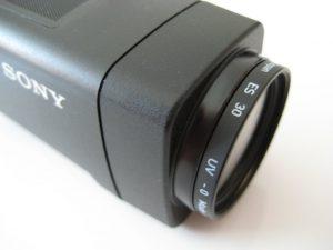 Zusatzlinse Kamerakopf
