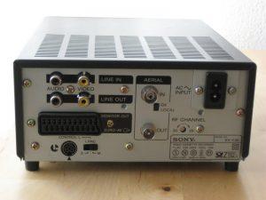 Sony EV-C3E back