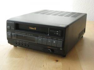 Sony EV-C3E front