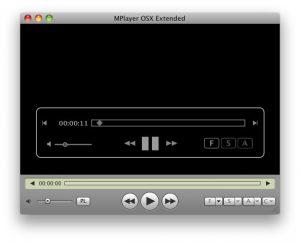 Mplayer OSX