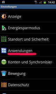 Android Einstellungen - Debugging aktivieren