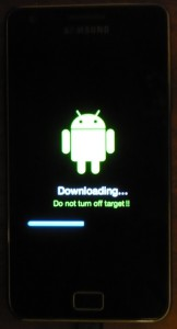 Firmeware Update - Galaxy S II