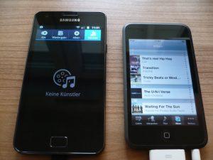 Musik synchronisieren - iPod zu Galaxy S2