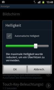 Samsung Galaxy S 2 - Ueberhitzung