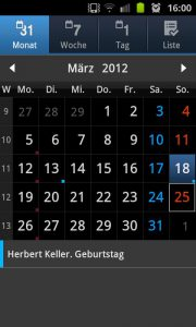 Samsung Galaxy S2 - Outlook synchronisieren