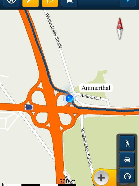 Android Navigation – Samsung Galaxy S 2