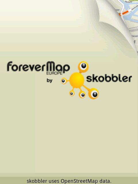 Skobbler ForeverMap für Android