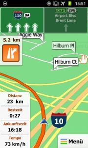 iGo My way - complex navigation