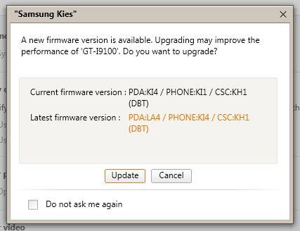 Galaxy S2 Update auf Android 2.3.6 mit Problemen