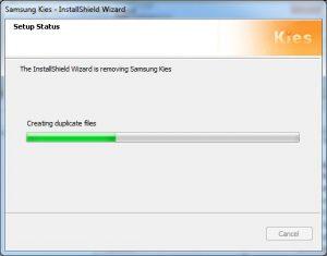 Samsung Kies - Removing