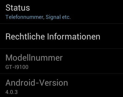 How To Take Screenshots in Ice Cream Sandwich Android 4.0.x