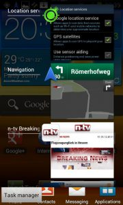 Android Ice Cream Sandwich - Task Manager