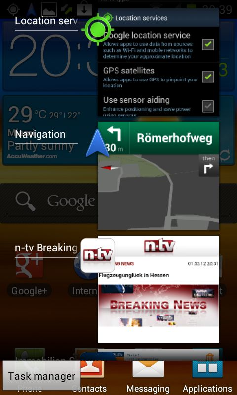 Ice Cream Sandwich Android 4.0.3 – My first experiences