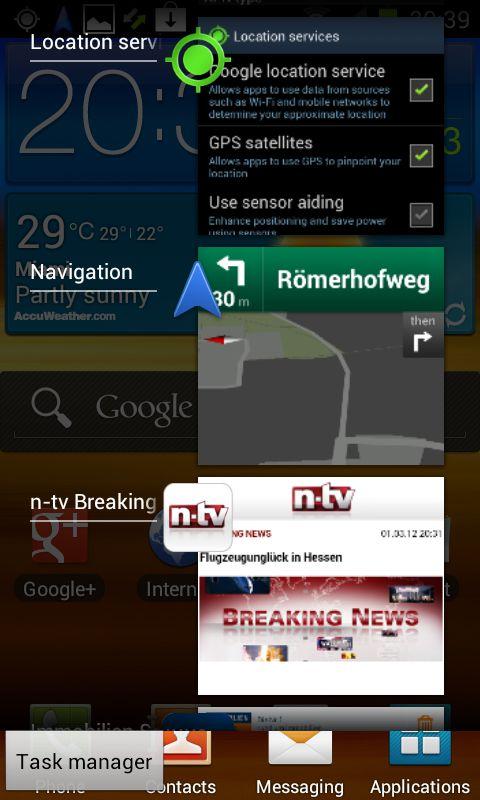 Samsung Galaxy S2 mit Android 4.0.3 Ice Cream Sandwich – Erste Erfahrungen