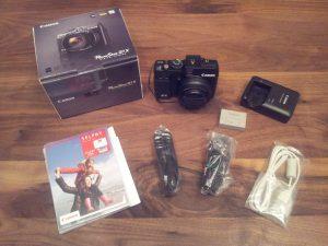 Canon G1 X - accessories