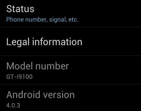 Samsung Galaxy S2 Upgrade to Android 4 – Ice Cream Sandwich