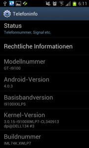 Samsung Kies - Galaxy S2 DBT Firmware Update XWLP7