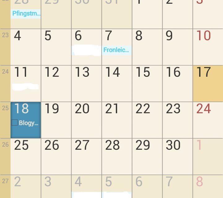Samsung Galaxy S3 S Planner mit Outlook Aufgaben synchronisieren