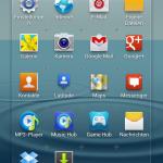 Samsung Galaxy S3 - Menue Icons neu anordnen